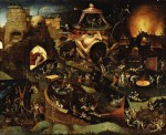 Christ in Limbo - Hieronymus Bosch, at the  Indianapolis Museum of Art.
