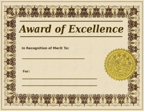 Anyone winning 'A Civil' can expect a fine certificate as proof of their excellence. Lucky them.
