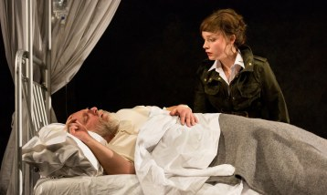 King Lear and Cordelia (Olivia Vinall)