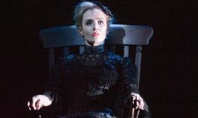 Lisa Dwan in Rockaby by Samuel Beckett at the Duchess Theatre, London
