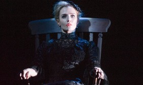 Lisa Dwan in Rockaby by Samuel Beckett at the Duchess Theatre, London