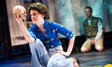 Denise Gough and Brian Ferguson in Adler and Gibb at the Royal Court, London