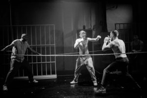 Hamlet Boxing - Hammersmith Riverside Studios photocredit Adam Trigg