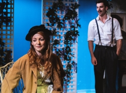 The Return of the Soldier, Tristan Bates Theatre, Laura Pitt-Pulford and Stewart Clarke, 2014. Courtesy Darren Bell