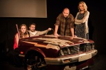 Zoe Swenson-Graham, Tom Slatter, Henry Everett and Sharon Maughan in Autobahn, King's Head Theatre - (c) Scott Rylander