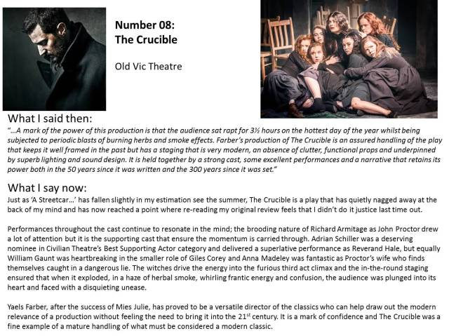 No 8 - The Crucible