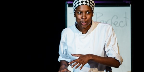 Jade Anouka in Chef @ Soho Theatre