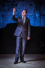 Bertie Carvel as Pentheus in Bakkhai Almeida Theatre