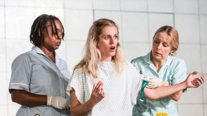 Denise Gough in People Places and Things Photo Johan Persson
